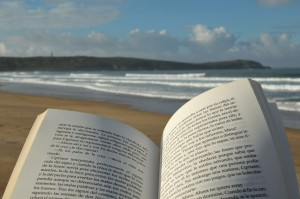 summer reading - beach